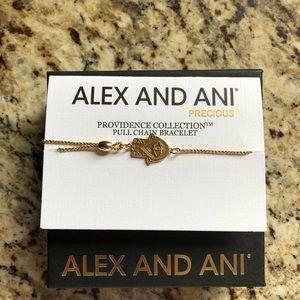 Alex and Ani Pull chain bracelet
